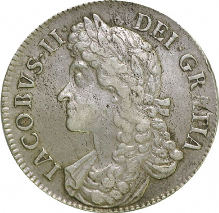 James II Silver Crown